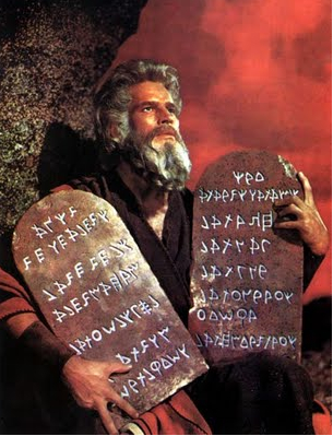 MOSES AND THE TABLET